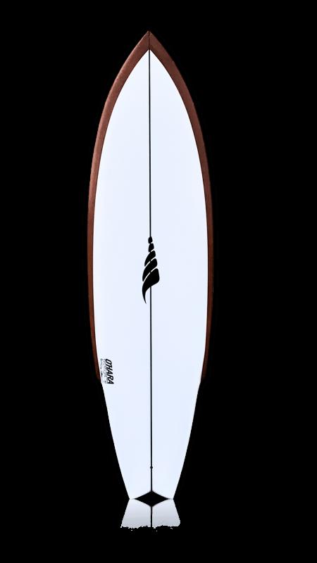 Single Fin Stinger Rising Sun Solid Surfboards