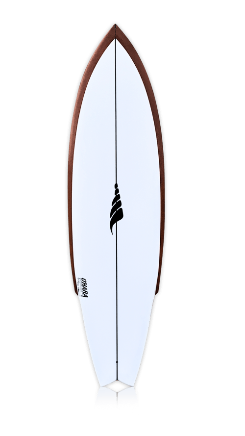 Single Fin Stinger Rising Sun Solid Surfboards