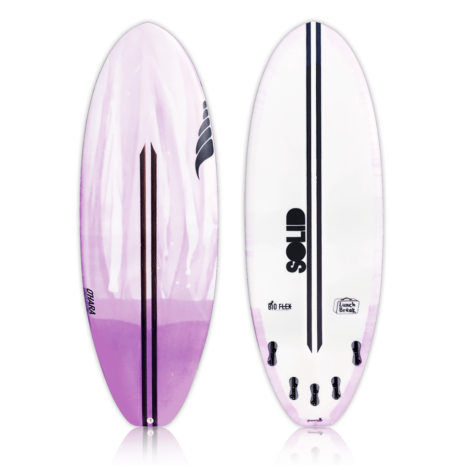 Small Wave Performance Surfboard by SOLID Custom Surfboards
