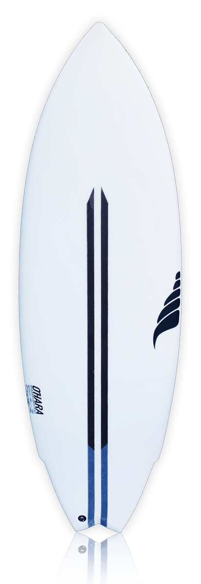 SOLID hemp surfboard bioflex vertical