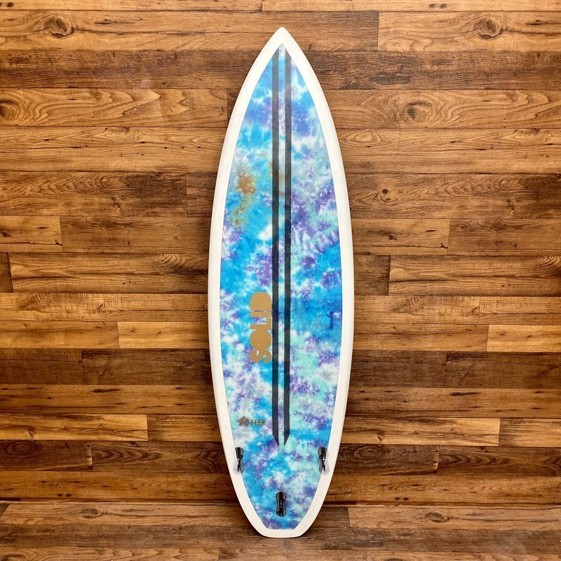 SOLID Duck Sauce Shortboard performance hemp surfboards