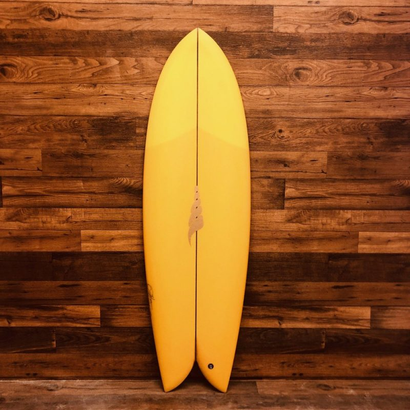 Retro Twin Fin Fish by SOLID Custom Surfboards