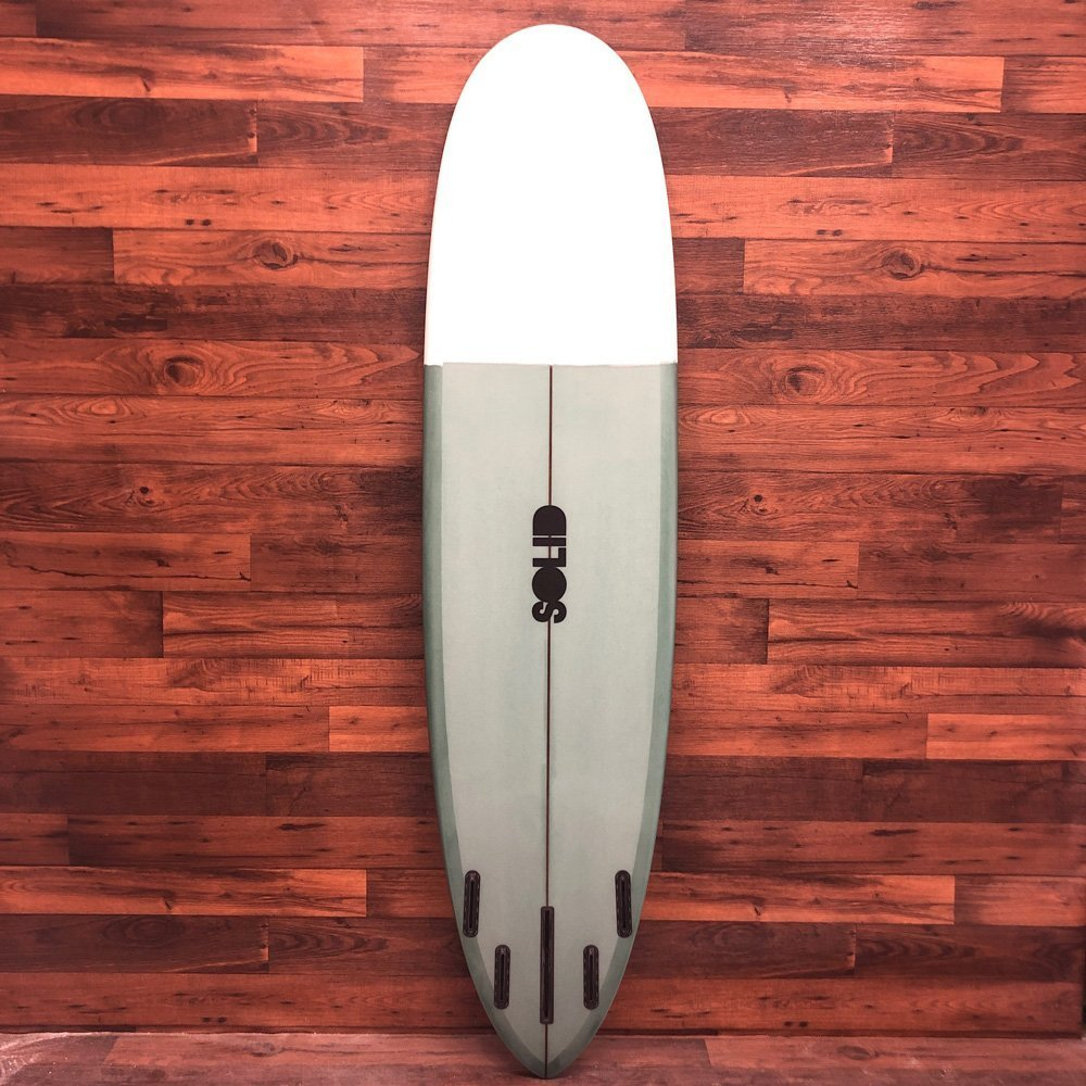 EZ Street Nose Rider Midlength Longboard by SOLID Custom Surfboards
