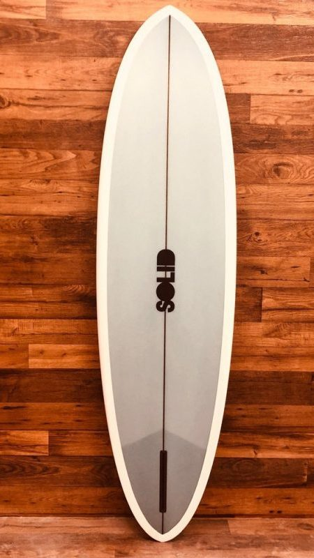 Retro Single Fin Surfboard by SOLID Custom Surfboards