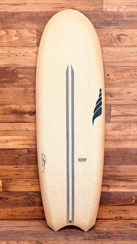 the Bento Box Performance Mini Simmons Solid Surfboards Hemp Surfboards