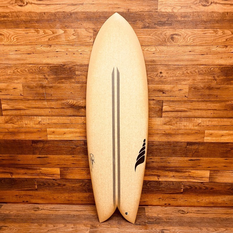Retro Fish Surfboard Hemp Surfboard BIOflex Solid Surf Custom Surfboard