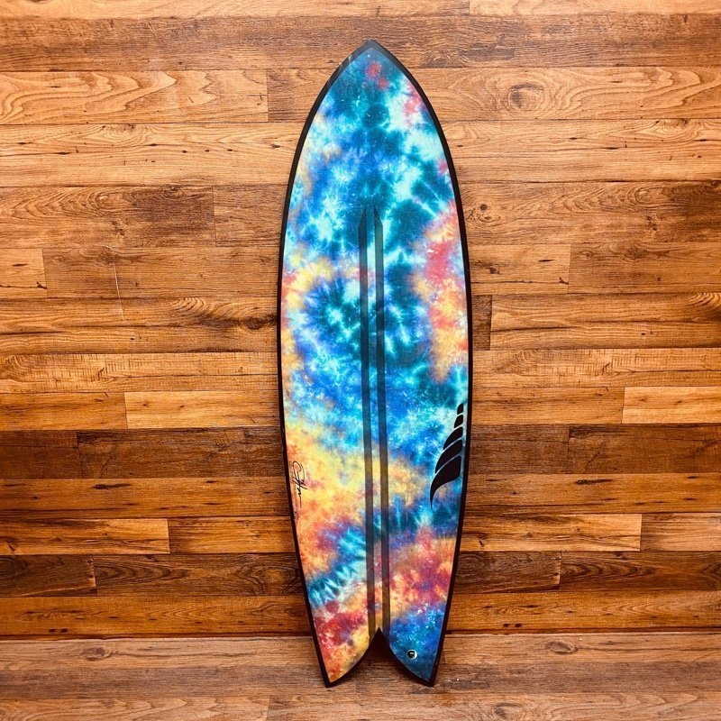 Retro Fish Surfboard Hemp Surfboard Solid Surf BIOflex Custom Surfboard