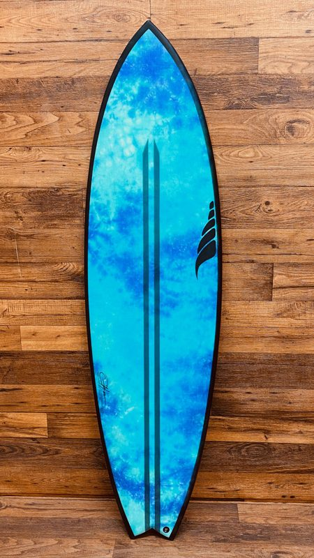 SOLID Triggerfish Fish Surfboard Hemp Surfboard