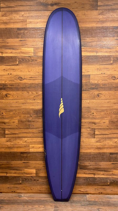 SOLID LOG Single Fin Classic Nose Rider Longboard