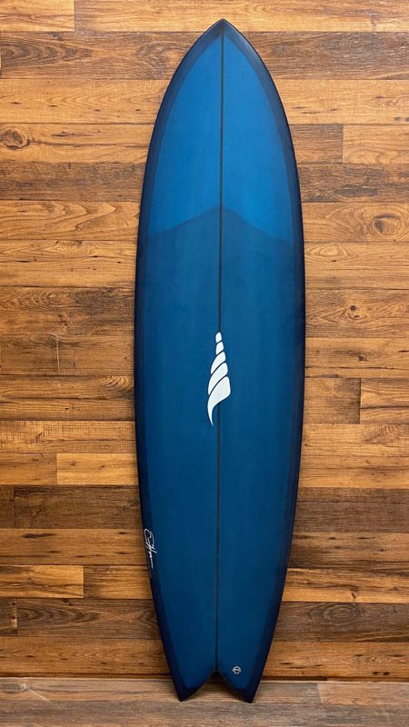 SOLID Pescador Surfboard Long Fish Surfboard Retro Fish
