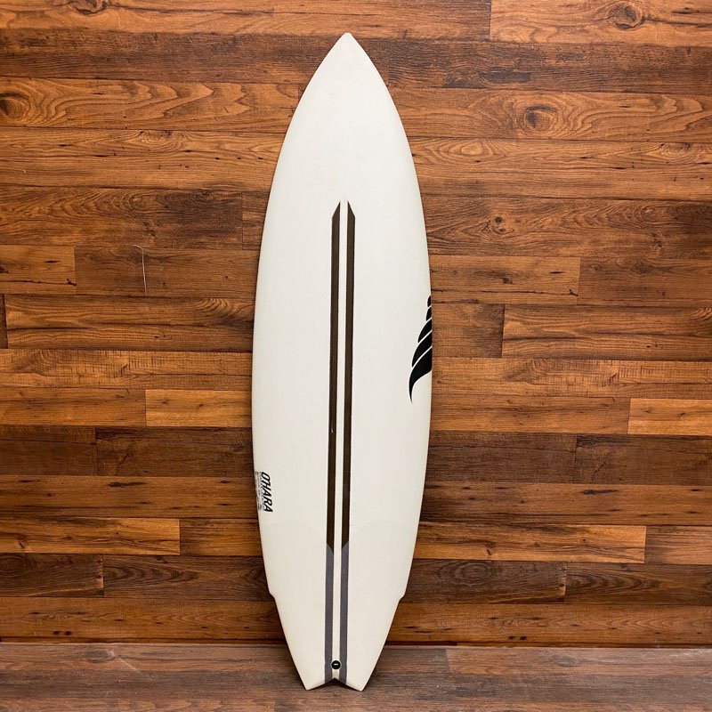 SOLID WTF Surfboard Twin Fin Performance Twin BIOflex ECO Friendly Surfboard Hemp Surfboards